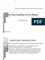 fcff free cash flow calculation