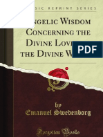 Angelic Wisdom Concerning the Divine Love and the Divine Wisdom - 9781440093364