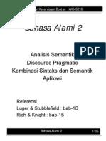 Bahasa Alami 2