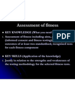 chapter 9 assessment of fitness