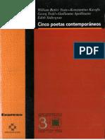 Cinco poetas contemporáneos