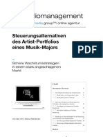 Artist Portfolio Management | de burna media group™| online agentur
