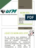 NOM-005-STPS
