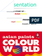 success full story of asian paints by Rajat katiyar