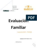 Evaluación Familiar inf. 2