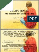 DELITO SEXUAL Abuso Sexual Infantil