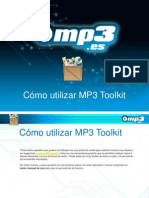 Cómo utilizar MP3 Toolkit