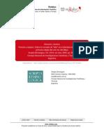 REMORINI, Carolina. Persona y espacio. Sobre el concepto de teko en el abordaje etnográfico de las primeras etapas del ciclo de vida Mbya. Scripta Ethnologica 2005, vol. XXVII