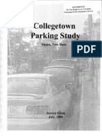 Collegetown Parking Study, Ithaca, New York by Jessica Greig, July 2000