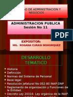 ADM.Pública Sesión No 11