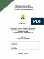 Spesifikasi Umum 2010 Revisi 1 dan Lampiran