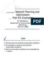 Cellular Network Planning and Optimization Examples Public