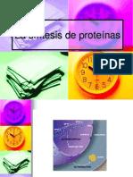 Sintesis Proteica Clase 2