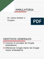 Clase 09 Ciruga Ambulatoria