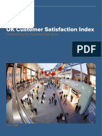 SMG Customer Satisfaction Index UK Report