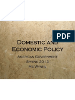 chp 14 domestic policy 2012