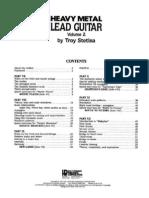 Troy Stetina - Heavy MEtal Lead Guitar Vol II