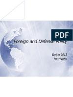chp 15 foreign policy 2012