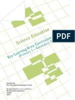 CDC Science Education P1-S3 Curriculum Guide