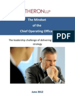Report - The Mindset of the Chief Operating Officer