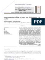 [ĐT1] 2011 Monetary policy and the exchange rate _Evaluation of VAR