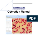 User Manual of ScopeImage 9.0- 1.3MG CMOS(MDE-130 Software)