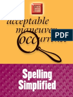 Spelling Simplified (Study Smart)