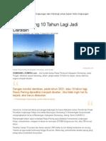 Data Lingkungan Dan Hidrologi Untuk Kajian Hidro Lingkungan Rawa Pening