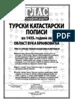 Turski Popis Za Oblast Brankovica