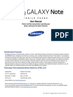 ATT i717 Galaxy Note English User Manual LA1 F3
