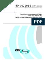 ETSI EN 300 392-5 en_30039205v010101p