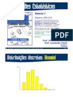 Mod e Simul Eventos Discretos, Chwif e Medina - Anexo 1 -Distrib, Estat+¡st. - pag 208 a 218