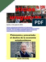 Noticias Uruguayas Martes 12 de Junio Del 2012