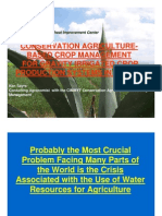Conservation Agriculture-Based Crop Management for Gravity Irrigated Crop Production Systems in Mexico - Ken Sayre