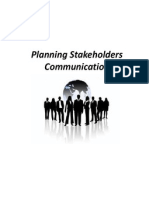 Stakeholders Communication Management