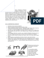 Struktur Arsitektur Romawi