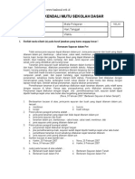 [Www.banksoal.web.Id] Soal Uji Kendali Mutu (UKM) SD Kelas 4 - Bahasa Indonesia (Soal Dan Jawaban)