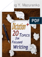A-5_20 Topics for Focused Writing