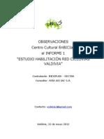 Obsv. EnBICIa2 Info 1 Habilitación Red De Ciclovias Valdivia