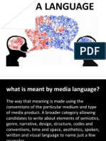 A2 Section A Languages and Media Theories