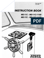 Volvo Penta MD11C User Manual