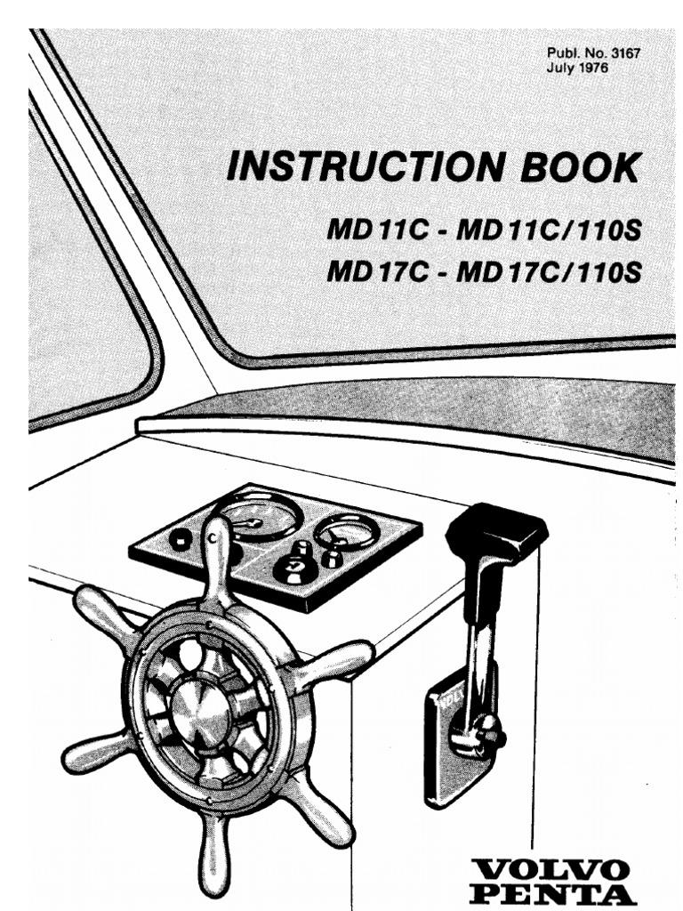 volvo penta md11c user manual diesel engine fuel injection rh scribd com