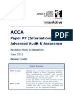 ACCA P7 Revision Mock June 2012 ANSWERS Version 4 FINAL at 5th May 2012