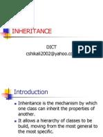 5 Inheritance