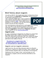 Facts About Magnetism-part1