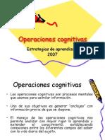 Operaciones cognitivas