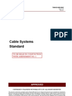 Cable Systems Standard TNM-DS-806-0843 - Issue 2.0 Dec 01