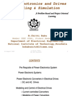 Power Electronics and Drives