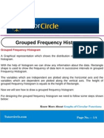 Grouped Frequency Histogram