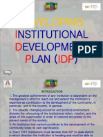 Developing IDP